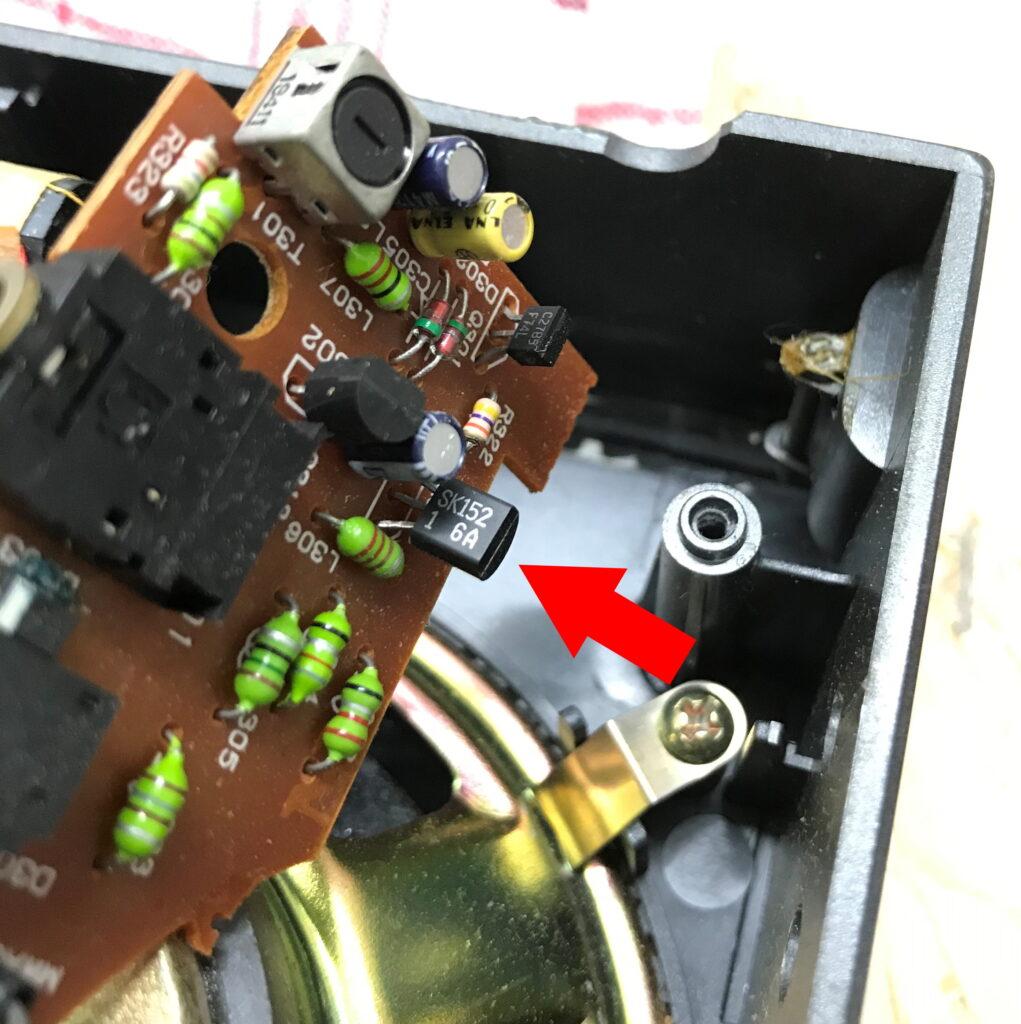 FET Q 303 vom Typ 2SK152
